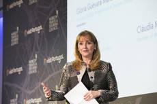 La presidenta y secretaria general de WTTC, Gloria Guevara.