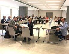 La reunión de la Mesa del Turismo.