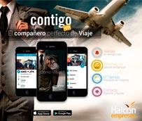 Halcón Empresas crea Contigo App, su nueva aplicación para móviles