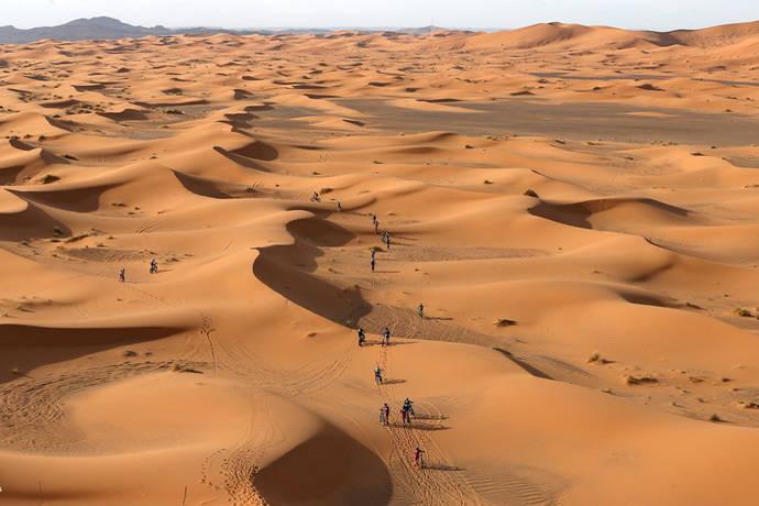 Halcón gestiona los viajes de la Gaes Titan Desert