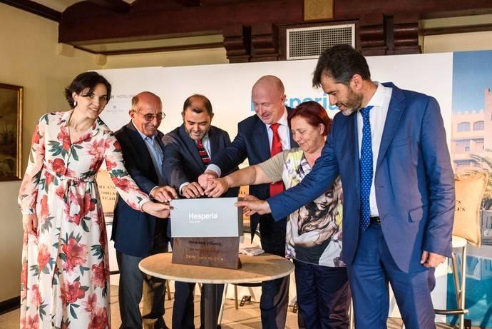 Hesperia Villamil reaparece como nuevo 5 estrellas