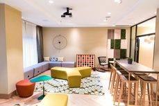 El Social Hub, el nuevo espacio creado en el Hilton Diagonal Mar Barcelona.