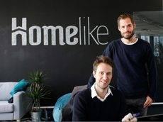 Los fundadores de Homelike, Dustin Figge y Christoph Kasper.