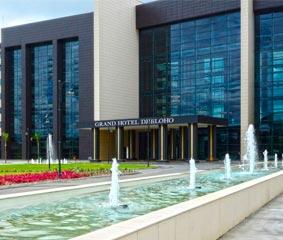 El Grand Hotel Djibloho, en Guinea Ecuatorial, sede de importantes eventos