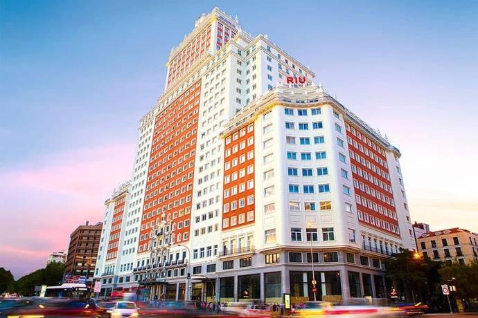 Cifras récord para el hotel Riu Plaza de España