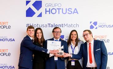 Hotusa culmina la segunda edición inter universitaria Talent Match de Smart People
