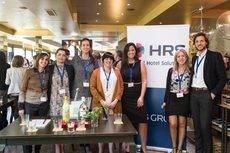 Una parte del equipo de HRS.