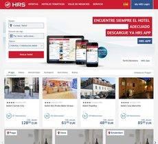 El portal de HRS.