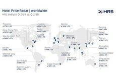 Los hoteles españoles aumentan su precio un 12%
