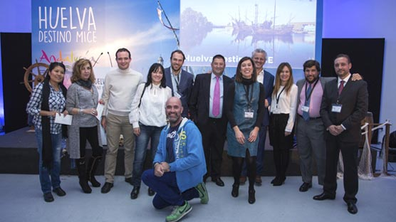 Huelva muestra su oferta de reuniones e incentivos en Madrid y Barcelona