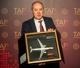 IAG7 Viajes es galardonada por la aerolínea TAP