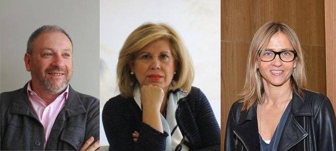 Juan Torres (Grupo Iris), Fina Muñoz (IAG7 Viajes) y Julia Franch (Travel Advisors Guild).