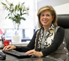 La CEO de IAG7 Viajes, Fina Muñoz.