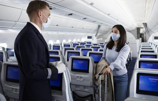 El sector aéreo demuestra que el riesgo del contagio en el avión es muy bajo