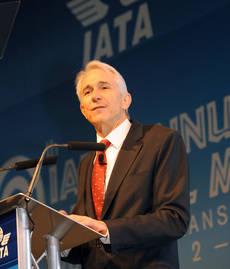 Tony Tyler es director general de IATA.