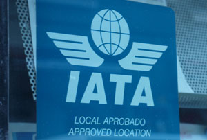 El número de puntos de venta con título IATA cae un 60% en los últimos siete años