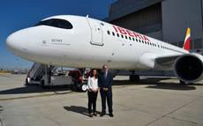 Getafe da nombre al último A320neo recibido por Iberia