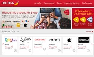 Éxito de ventas en la tienda 'online' IberiaPluStore