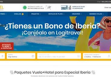 Logitravel celebra la integración de los bonos de Iberia