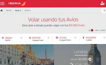 Iberia Plus presenta su nuevo buscador de vuelos