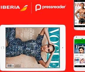 Iberia ofrece un nuevo servicio de prensa digital