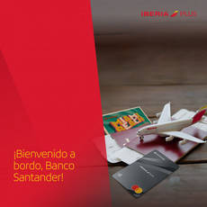 Ya disponible Santander One Iberia Plus
