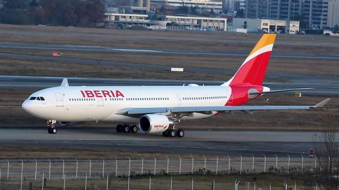 Iberia recibe su septimo avión Airbus A330-200