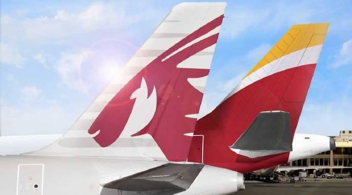 Iberia y Qatar Airways, aliadas para la conectividad
