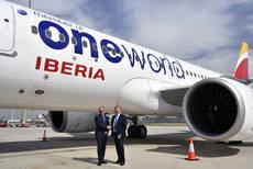 Oneworld celebra con Iberia su 20º aniversario