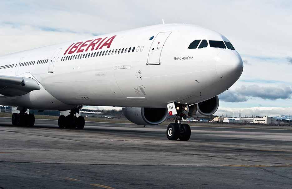 El beneficio de Iberia crece a doble dígito en 2016