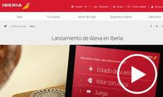 Iberia interactuará con sus clientes a través de Alexa