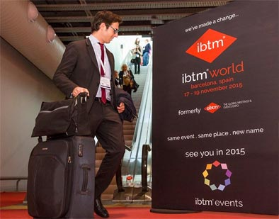 Mañana comienza en Barcelona la nueva edición de IBTM World