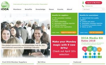 ICCA anuncia su 'web' en español para este año