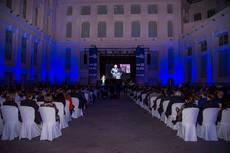 El ICTE celebró la Noche 'Q' en la Galería de Cristal del Palacio de Cibeles.