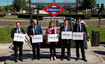 Cambio de nombre de la estación de Metro de Ifema