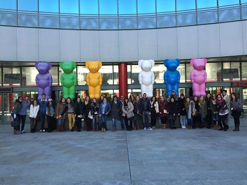 Los estudiantes de Esode visitan las instalaciones de Ifema