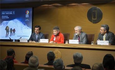 Ifema patrocina la próxima expedición de Carlos Soria