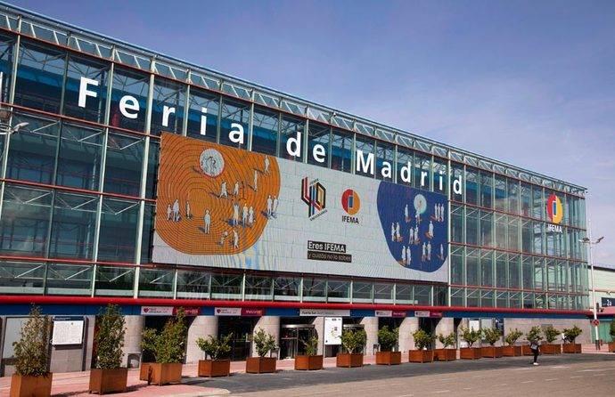 La entrada principal de Ifema.