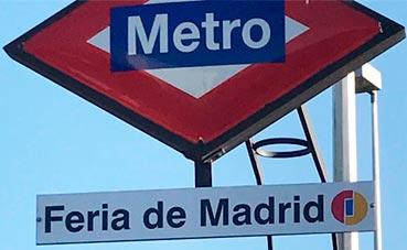 Feria de Madrid ya tiene su nombre en la estación de Metro
