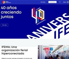 Ifema presenta una nueva página en Internet