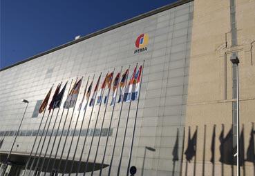 Ifema ya luce en el Palacio Municipal de Congresos
