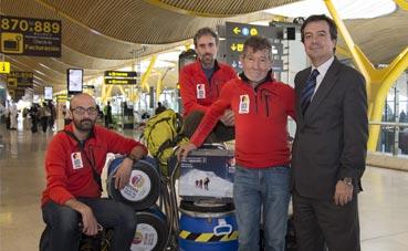 Comienza la expedición alpina que patrocina Ifema