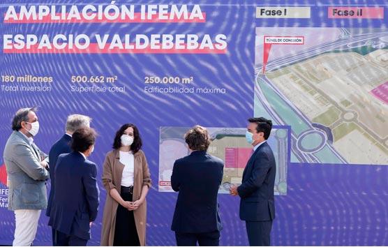 La Feria de Madrid presenta el inicio de las obras de su ampliación en Valdebebas