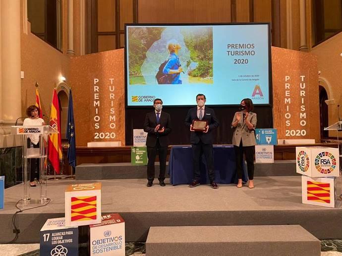 Ilunion Romareda, Placa al Mérito Turístico de Aragón
