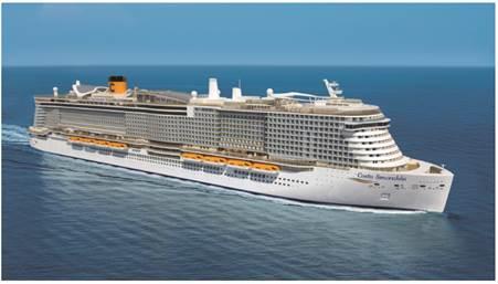 Costa Cruceros refuerza su presencia en el Mediterráneo