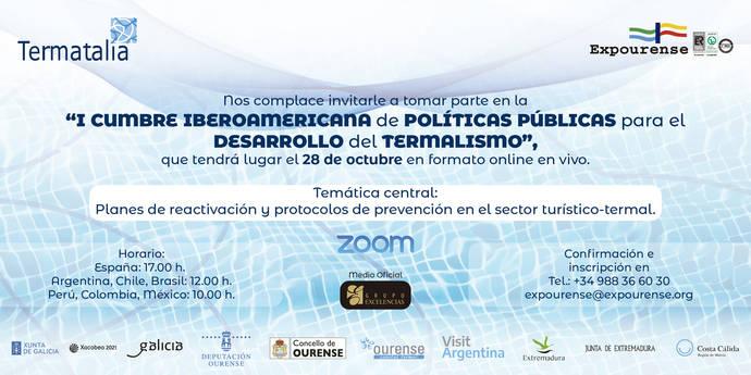 Termatalia: 1ª Cumbre de políticas para el Termalismo