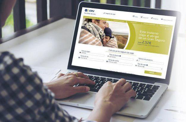 ERV Seguros de Viaje lanza una nueva página web