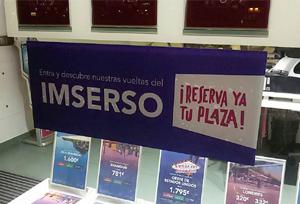 Las ventas de los viajes del Imserso arrancarán el próximo 14 de octubre