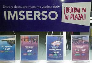 El programa del Imserso se licitará el 8 de marzo
