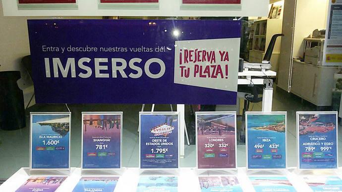 Cuenta atrás para el inicio de las ventas del Imserso en las 9.000 agencias acreditadas
